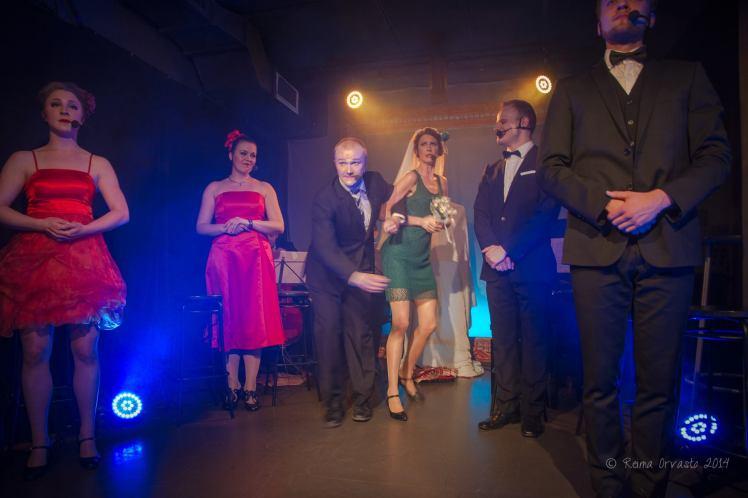 Sound Of Sondheim, Suomen musiikkiteatteriensemble / Kapsäkki 2014