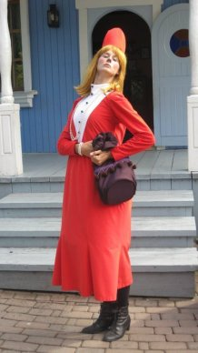 Rouva Vilijonkka, Naantalin Muumimaailma, kesä 2011