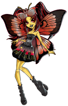 Monster High: Luna Mothews